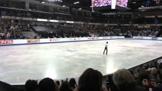 getlinkyoutube.com-[Fan cam] Yuzuru Hanyu SP Skate Canada 2015
