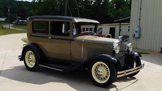 "getlinkyoutube.com-1931 Ford Model A Street Rod ""The Ultimate Sleeper"" Big Oak Garage"