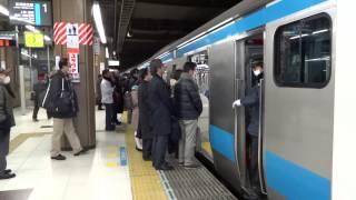 getlinkyoutube.com-映像集 朝ラッシュ京浜東北線大宮駅/Keihin-Tōhoku Line Rush hour at Omiya Sta./2014.01.31