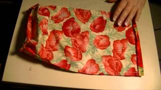 getlinkyoutube.com-Drawstring Bag (Sewing For Beginners)