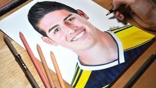 getlinkyoutube.com-Drawing James Rodriguez