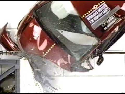1996 Honda Odyssey/Isuzu Oasis IIHS Moderate Crash Test