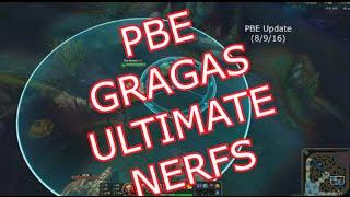 PBE - 古拉格斯大絕被NERF