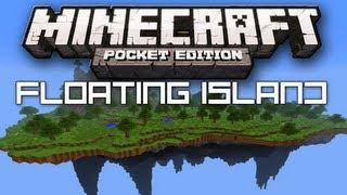 getlinkyoutube.com-BEST Floating Island Seed - Minecraft Pocket Edition