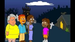 getlinkyoutube.com-Dora Revives Caillou and Gets grounded