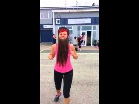 The bearded lady from energie Fitness For Women, Plymouth takes on Hercules