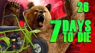 getlinkyoutube.com-7 Days to Die: Super Horde Attack #26