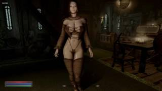 Skyrim Special Edition  Sexy Robes and Hats for 7BO