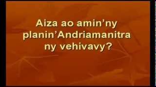 Aiza ao amin'ny planin'Andriamanitra ny vehivavy