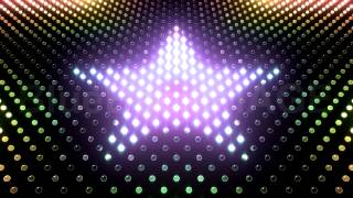 getlinkyoutube.com-Stock Footage : LED Light Star wall neon disco flash GAr