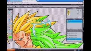 getlinkyoutube.com-Como Crear Tu Propio Personaje De Dragon Ball Z Sin Programas