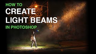 getlinkyoutube.com-Create Beams Of Light From Nothing In Photoshop