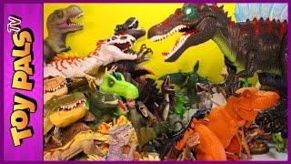 getlinkyoutube.com-500+ DINOSAURS: Toy Dinosaur Collection, Jurassic World Dinosaurs, Big & Small Dinosaur Toys