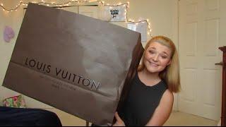 getlinkyoutube.com-Louis Vuitton Birthday Unboxing!