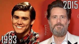 getlinkyoutube.com-Jim Carrey (1983-2015) all movies list from 1983! How much has changed? Before and Now!