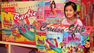 getlinkyoutube.com-Barbie Sisters Cruise Ship