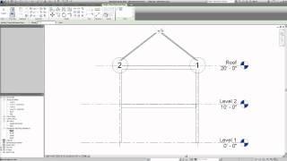 getlinkyoutube.com-Revit 2014 - Roof Truss System