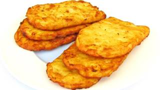 getlinkyoutube.com-Hash Browns - How To Make Fast Food Style Hash Browns - Recipe