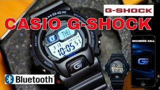 getlinkyoutube.com-CASIO G-SHOCK BLUETOOTH Watch GB6900B-2ER Review Features Unboxing 2014