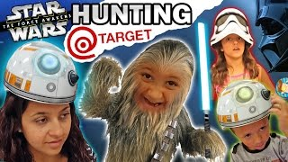 getlinkyoutube.com-EPIC FAMILY FUN! Star Wars Hunting @ Target w/ Mike-Bacca & BB Chase (The Force Awakens Vlog)