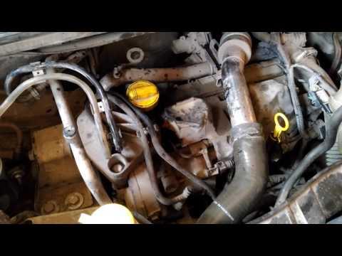 Странный стук в работе двигателя Renault Kangoo2