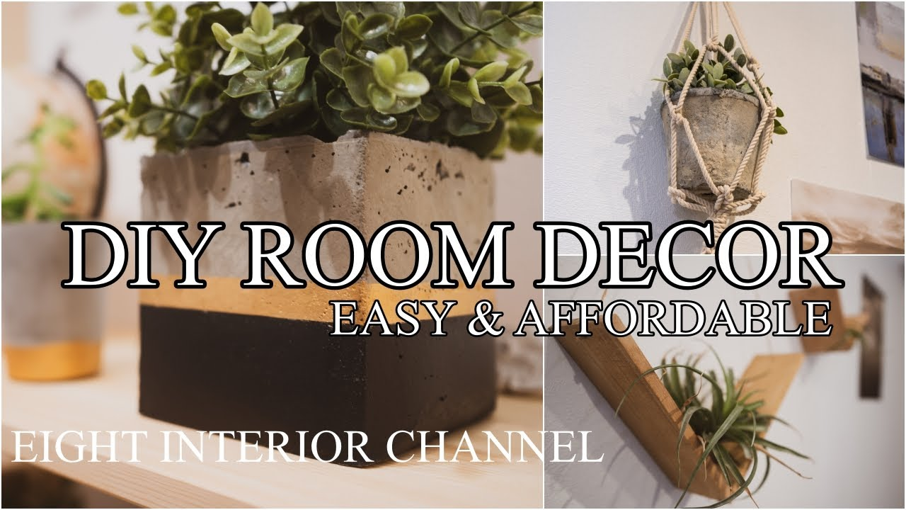 DIY affordable Room Decor