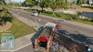 getlinkyoutube.com-Watch dogs 2,Comment trouver,Camion de pompier