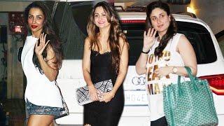getlinkyoutube.com-Malaika & Amrita RUSHED To Meet Pregnant Kareena Kapoor At Home
