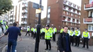 getlinkyoutube.com-All kicking off at Millwall. We are Leeds!