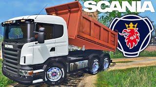 getlinkyoutube.com-Farming Simulator 2015 - SCANIA Caçamba