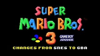 getlinkyoutube.com-Super Mario Bros 3: Changes from SNES to GBA