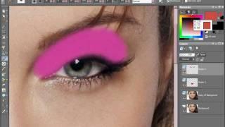 getlinkyoutube.com-Angelina Jolie Digital Makeover with Corel Paint Shop Pro x2 part 1