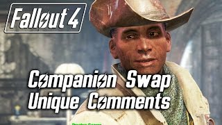Fallout 4 - Companion Swap Unique Comments (Preston Garvey)