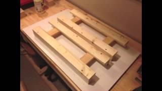 getlinkyoutube.com-Make a folding table - Machen Sie einen Klapptisch