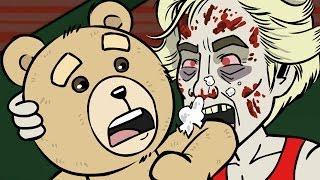 getlinkyoutube.com-THE WALKING DEAD Zombies Eat TED: EP 109: Tvoovies