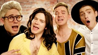 One Direction - History PARODY! Key of Awesome #106