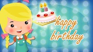 getlinkyoutube.com-Happy Birthday lyrics music with lead vocal | Friend Style | Nursery Rhymes | Ultra HD 4K Video