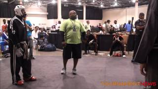 getlinkyoutube.com-Marcel Lazenby vs Larry Tankson at North American International Karate Championship 2012