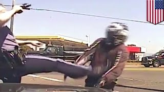 Motorcycle vs cops: Oregon police chase results in $180,000 payout to biker - TomoNews