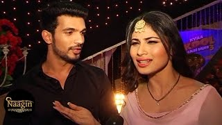getlinkyoutube.com-Naagin | Ritik & Shivanya's Off Screen Masti | Interview - MUST WATCH