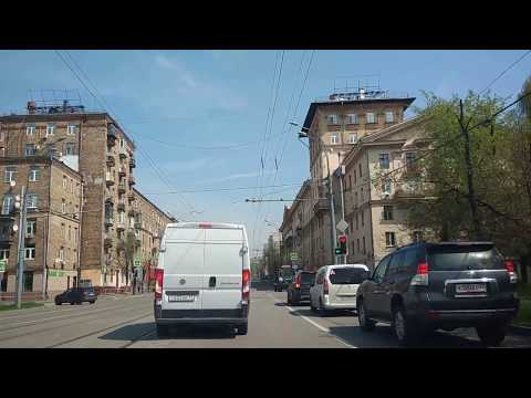 . Москва-Семеновская-Измайловские ворота. Поездка на автомобиле Mercedes CLA180