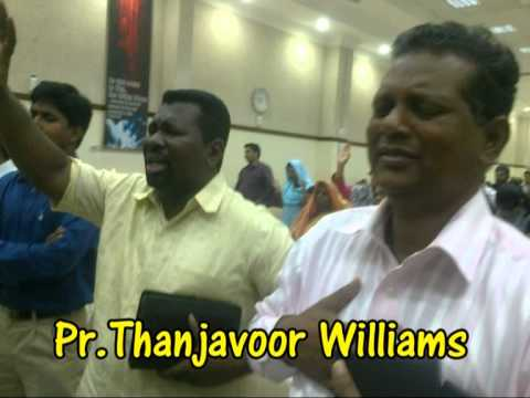 Pr.Thanjavoor williams hindi christian worship,yesu ka