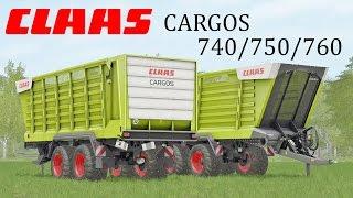 getlinkyoutube.com-Farming Simulator 17 Presentazione Claas Cargos 740/750/760 By Malle