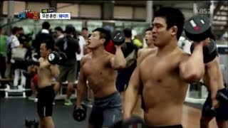 getlinkyoutube.com-training at the korean judo team weightlifting room 이것이 국가 대표다! 태릉선수촌의 웨이트 트레이닝