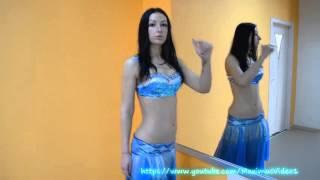 getlinkyoutube.com-Танец живота, как правильно делать волну животом