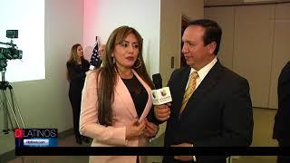 El Embajador de Colombia en USA, Camilo Reyes, visitó Kansas City con un muy emotivo mensaje