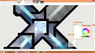 getlinkyoutube.com-[MineCraft PvP] 1.7/1.8 Resource Pack Making a Diamond Sword #3 (Avatar the Last Airbender?)