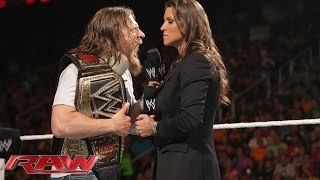 getlinkyoutube.com-Daniel Bryan refuses to surrender the WWE World Heavyweight Title: Raw, May 26, 2014