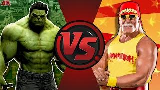 getlinkyoutube.com-HULK vs HULK HOGAN! (Marvel vs WWE @HulkHogan) Cartoon Fight Club Episode 161