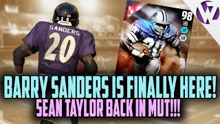 getlinkyoutube.com-Madden 16 BARRY SANDERS JOINS THE SQUAD + SEAN TAYLOR IS BACK!!! - Madden 16 Ultimate Team Gameplay